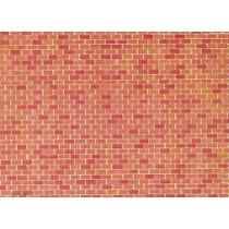 Wall card, Red brick