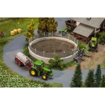 Liquid manure pit