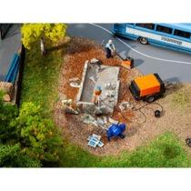Construction machine set