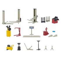 Car workshop equipment