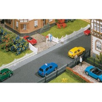 Garden fences with gates, 710 mm
