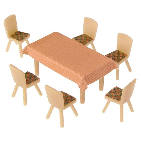 4 Tables and 24 Chairs