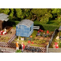 Allotments with contractor's trailer