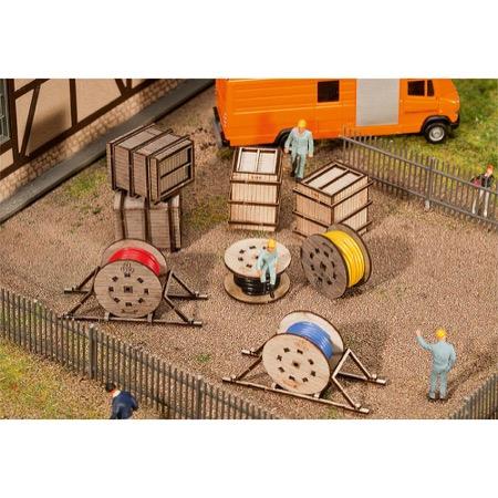 Transportbokse og kabelruller