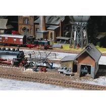 Water standpipe, loading gauge, locomotive tube