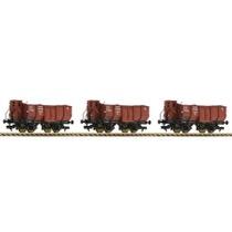 3-tlg. Güterwagenset Bauart Omp, DRG DC