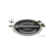 Drehscheibe mit elektrischem Antrieb für das Mittelleiter-Wechselstromsystem AC