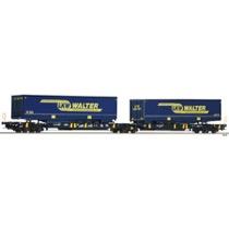 Doppeltaschen-Gelenkwagen Sdggmrs/T2000, WASCOSA DC
