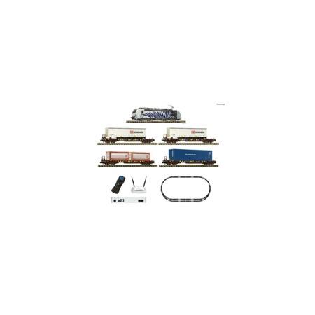 FLEISCHMANN Premium – z21 Digitalset: Elektrolokomotive BR 193 mit Güterzug DC