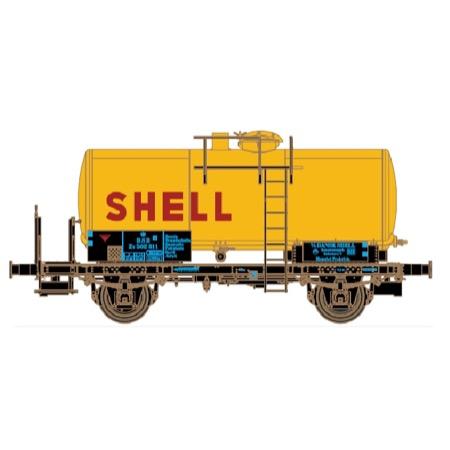"DSB tankvogn ZE 502 811 ""Shell"" epoke III"