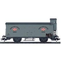 "DSB ZB 99703 ""D.D.S.F"" gærvogn (DC-hjul)"
