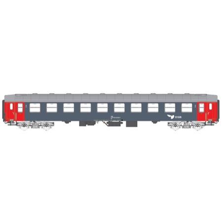 DSB Bc-t 51 86 50-30 312-7 liggevogn