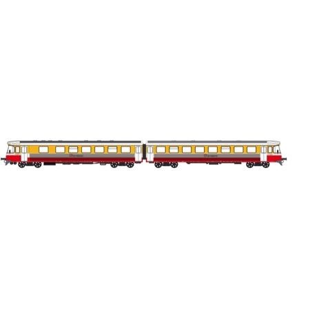 VLTJ Y-togsæt (Orange/hvid/rød) DC digital m. lyd DC