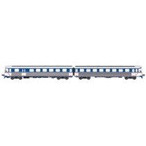 SB Y-togsæt (Blå/hvid) AC digital m. lyd AC