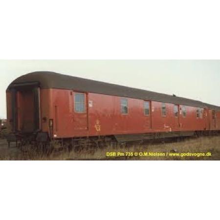 DSB Pm 50 86 90-44 731-5, postvogn