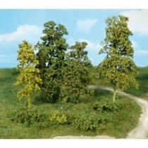 Naturlige fibertræer og buske Medium grøn
