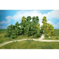leafy trees 5-12 cm / 14 pc