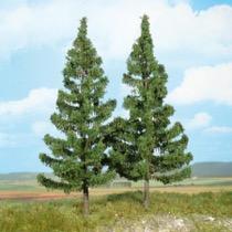 mountain spruces 17 cm / 2 pc
