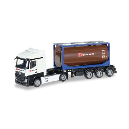 DB schenker lastbil m. tankcontainer