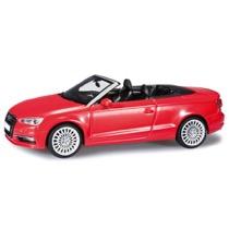 Audi A3 Cabrio brilliantrød