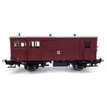 HP E 86, rejsegodsvogn, vinrød