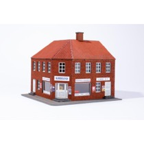 Hjørnehus med butik