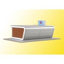 H0 Kiosk inkl. LED-Bel