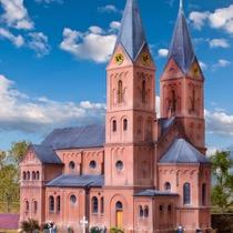 Romansk bykirke i Jakobwüllesheim