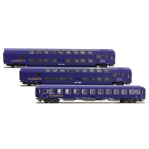 DB City Night Line 3-vognsæt (Blå)