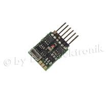 Lokdecoder Gold mini+ 0,5 / 0,8A, mit