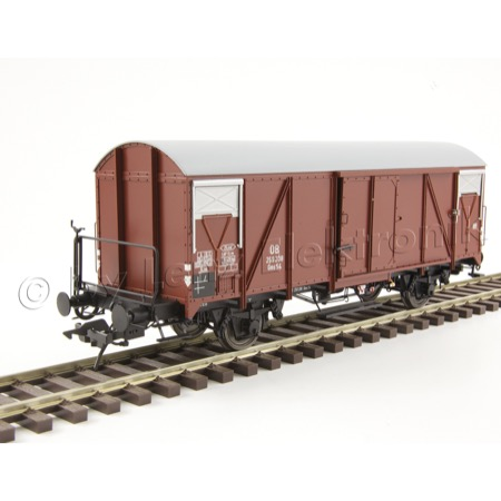 Güterwagen Gms 54 mit Bremserbühne, Betr.Nr