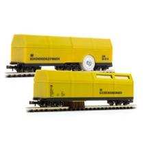 Rensevognsæt (SPOR N) støvsuger og skinnerenser DC