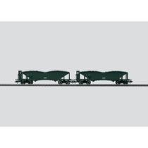 """46802 Wagen-Set """"Kohlentrichterwagen"""". Vorbild: 2 Kohlentrichterwagen OOt der Königlich Bayerischen Staatsbahn (K.Bay.Sts.B.)."""