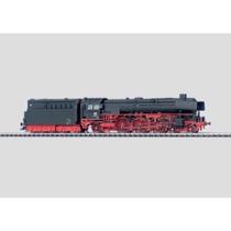 Schnellzuglokomotive mit Schlepptender. - BR 01.10 DB, schwarz AC