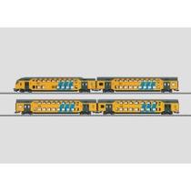 Doppelstockwagen-Set. - DDM2/3-Bv, DDM2/3-ABv, DDM2/3-Bvk, NS AC