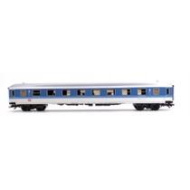 DB 1. kl. personvogn blå/hvid