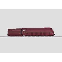Stromlinien-Dampflokomotive mit Schlepptender. - BR 05, DRG AC