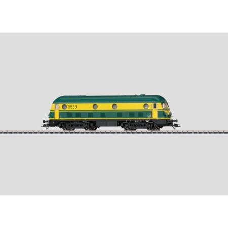 Diesellokomotive. - Serie 59, SNCB/NMBS AC