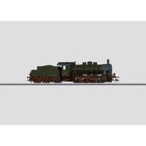 Güterzug-Dampflokomotive mit Schlepptender. - BR 55, G 8.1 (Borsig) AC