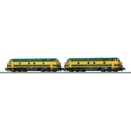 Diesellok Serie 55 SNCB/TVM AC