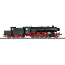 Güterzug-Dampflokomotive mit Kabinentender. - BR 50 AC