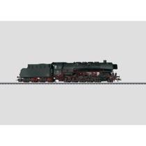 Dampflokomotive mit Schlepptender. - BR 44, DB AC