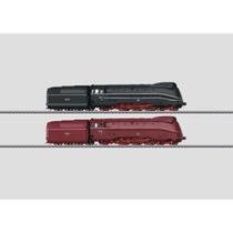 Set mit 2 Stromliniendampflokomotiven. - BR 03.1007 + BR 03.1009 DRG AC