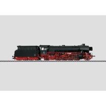 Güterzug-Dampflokomotive mit Schlepptender. - BR 042, DB AC