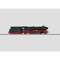 Güterzug-Dampflokomotive mit Schlepptender. - BR 41 Öl, DB AC