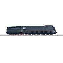Stromlinien-Schnellzugdampflokomotive mit Schlepptender BR 05 - BR 05, DR AC