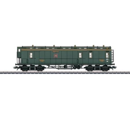 Schnellzug Postwagen K.W.St.E