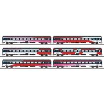 Schnellzugwagen-Set NS
