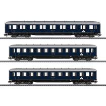 Schnellzugwagen-Set zur BR 05 - AB4ü, C4ü, DR
