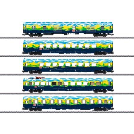 "Personenwagen-Set ""Touristikzug"""